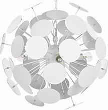 Beliani - Lampe suspension design blanche MARITSA