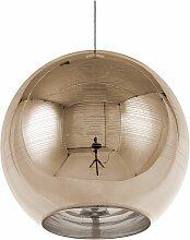 Beliani - Lampe suspension doré ASARO