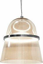 Beliani - Lampe suspension doré en verre ARDILLA
