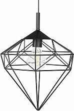 Beliani - Lampe suspension noire ITON