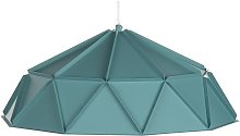 Beliani - Lampe suspension turquois SENIA