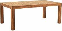 Beliani - Table de jardin en bois acacia 190 x 105