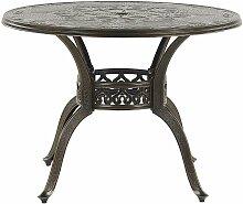 Beliani - Table de jardin ronde ø 100 cm en