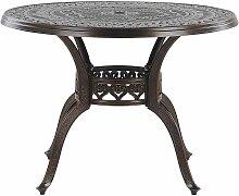 Beliani - Table de jardin ronde ø 102 cm en