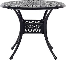 Beliani - Table ronde de jardin ø 90 cm en