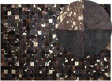 Beliani - Tapis patchwork en peau 160 x 230 cm