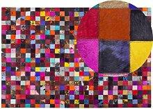 Beliani - Tapis patchwork multicolore 200x300 cm