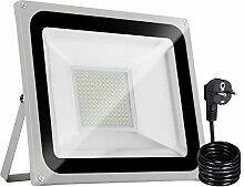 Bellanny Projecteur LED 100W Lampadaire exterieur