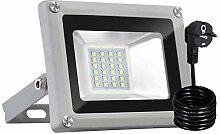 Bellanny Projecteur LED 20W Lampadaire exterieur