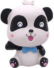 Belle Bande Dessinée Panda Tirelire Pièce