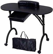 Beltom Table DE MANUCURE 98x77x44 CM avec tiroir