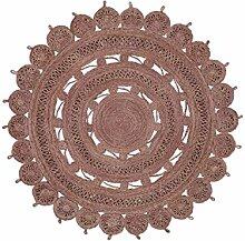 benuta Tapis, Sisal/Jute, Mauve, 150 cm