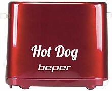 BEPER BT.150Y Machine de Hot Dog, 750 W,