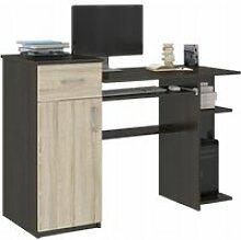 BERGEN - Bureau d'ordinateur - 120x76x50 cm -