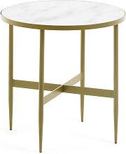 Bergondo - Table d'appoint ronde Ø50cm
