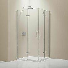 Bernstein - Paroi porte de douche pivotante en
