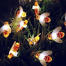 Beroica abeille guirlande lumineuse exterieur