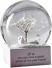 Berrywho de Neige de Noël Globes Boule de Cristal