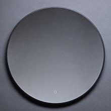 Best Design Nero Venise Miroir avec lumière 80cm