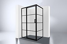Best Design Zeplin Cabine de douche avec porte en