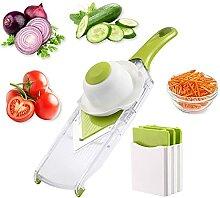 Bestonzon Mandoline Coupe Légumes Râpe hachoir