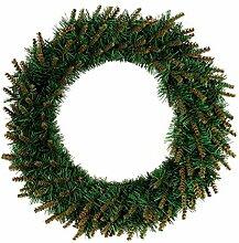 BESTOYARD Couronne de Noël Lumière LED Deco Noel
