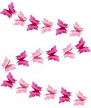 BESTOYARD Guirlande en papier en forme de papillon
