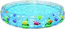 Bestway - piscine décor marin