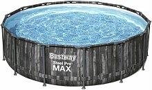 BESTWAY Piscine hors sol ronde Steel Pro Max -