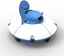 Bestway - Robot aspirateur de piscine fresbee bleu