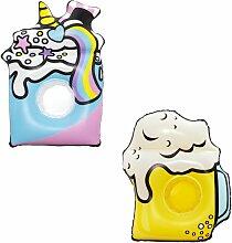 Bestway - verre à bière Porte-goblet flottant