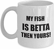 Betta poisson tasse cadeaux drôles pour betta