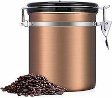 BETTERLE Boîte à café en acier inoxydable -