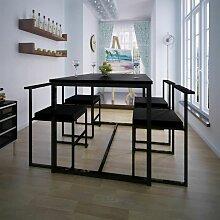 Betterlife - Ensemble de table et de chaises de