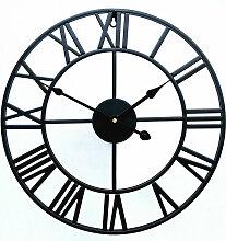 Betterlife - Horloge créative rétro en métal