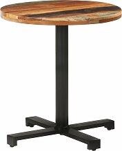 Betterlife - Table de bistro Ronde Ø70x75 cm Bois