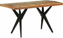 Betterlife - Table de salle à manger 140x70x76cm