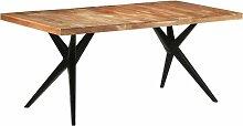 Betterlife - Table de salle à manger 180x90x76 cm