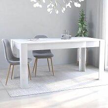 Betterlife - Table de salle à manger Blanc