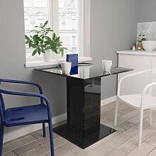 Betterlife - Table de salle à manger Noir