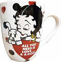 Betty Boop Tasse à thé/café avec inscription «