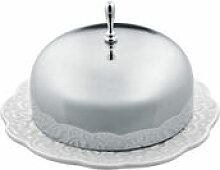 Beurrier Dressed - Alessi blanc/métal en