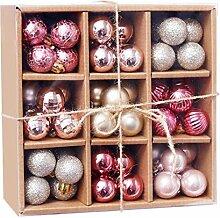 bfh 1 Boîte Boules De Noël, Ornements De Fête