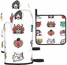 Bgejkos Icône japonaise Ghost Icon inclus : gants
