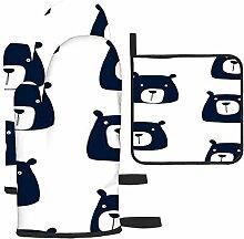 Bgejkos Les gants de cuisine et maniques en forme