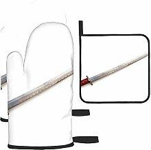 Bgejkos Les gants de cuisine et maniques isolés