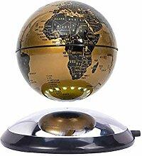 BGSFF Carte du Monde de Globe de lévitation