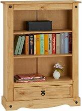 Bibliothèque SALSA étagère en bois style
