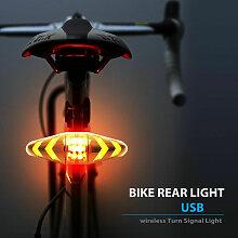 Bicyclette Vélo Feu Arrière Lumière éclairage