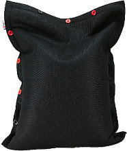Big Bag Pouf Matelas Piscine SHELTO MESH 100x100